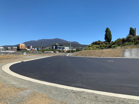 Road completion paves way for further development at Mac Point