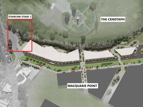 Contractor announced for Stairlink Stage 1