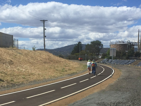 Mac Point cycle way closure to continue
