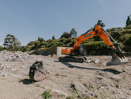 Work to remove historic mechanics pit underway