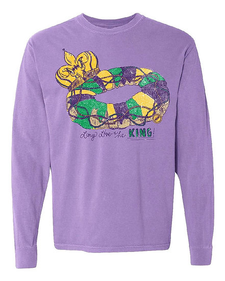 Long Live the King Cake Long Sleeve