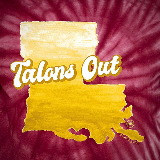 Talons Out Tiedye Tee