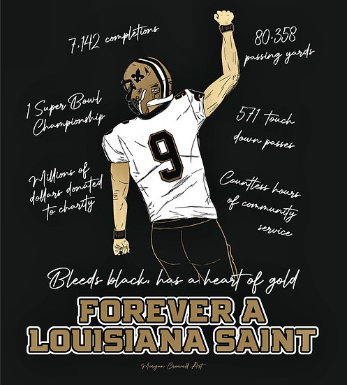 Forever a Saint Tee **TODDLER & YOUTH**