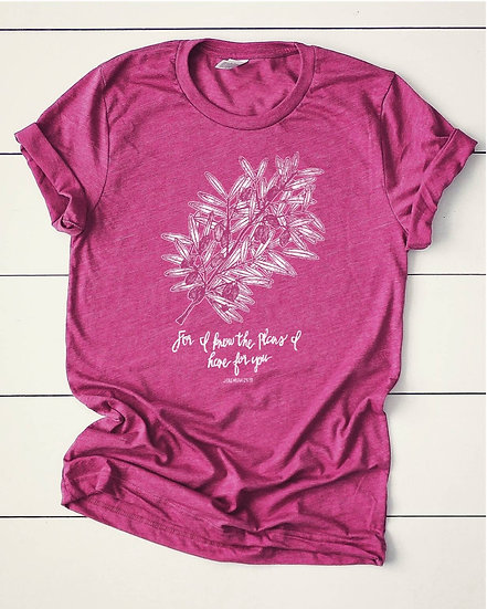 Peace in His Plans Tee