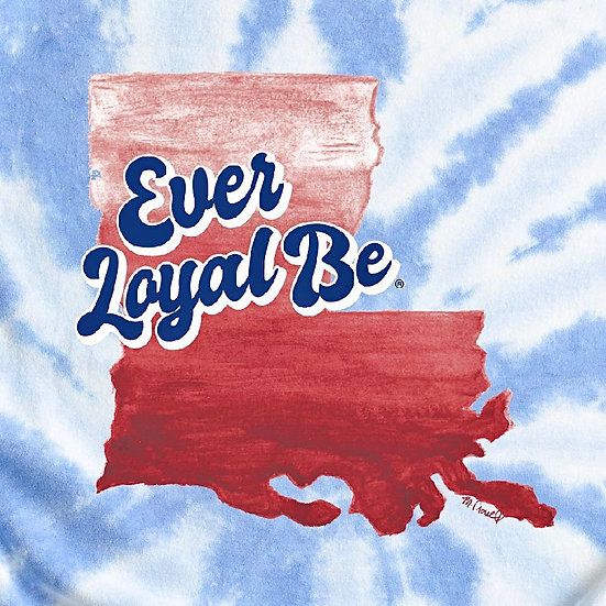 Ever Loyal Be Tiedye Tee YOUTH