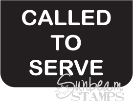 Called to serve tag