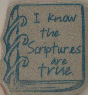 Scripture are true book
