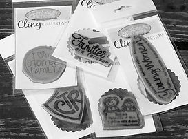 Sunbeam Stamps LDS Cling rubber stamps