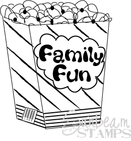 Family fun popcorn