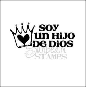 soy un hijo de Dios crown