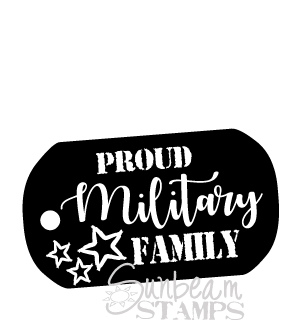 Military Family Tag
