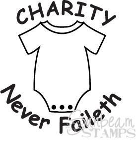 Charity never faileth baby