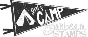 Girl's Camp Pendant