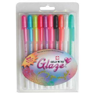 Glaze Pen 3D GLOSS set of 10