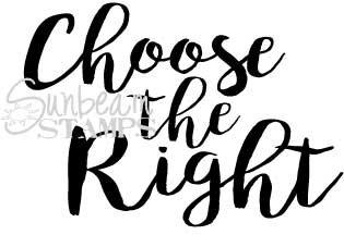 Choose the Right script