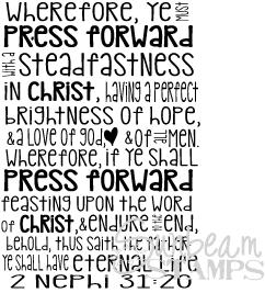 Press forward scripture
