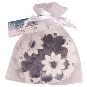 Bag O' Blooms BLACK & WHITE
