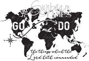 Go & Do world map