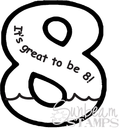It's great to be 8