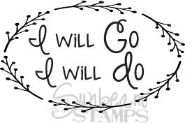I Will Go Wreath