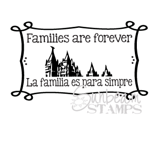 Families are forever temple