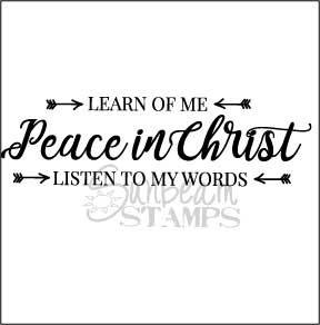 Peace in Christ arrows