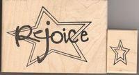 REJOICE Star set of 2