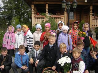 3 сентября учащиеся Успенской МБОУ СОШ посетили Вознесенский храм д. Бузаево.