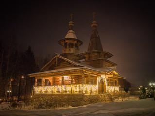 Рождественская ёлка в Вознесенском храме