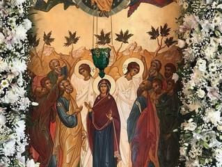 Престольный праздник в Вознесенском храме д. Бузаево.