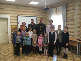 Начало учебного года в воскресной школе Вознесенского храма д. Бузаево