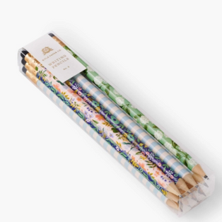 Floral pencils