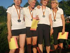 Deutscher Vize-Meister W60  4 x 100m