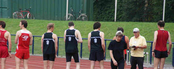 5000 m Startvorbereitung