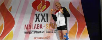 Kerstin, mehrfache Medaillengewinnerin