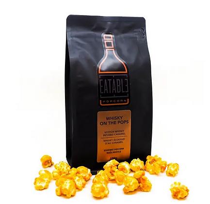 Whisky Caramel Infused Popcorn
