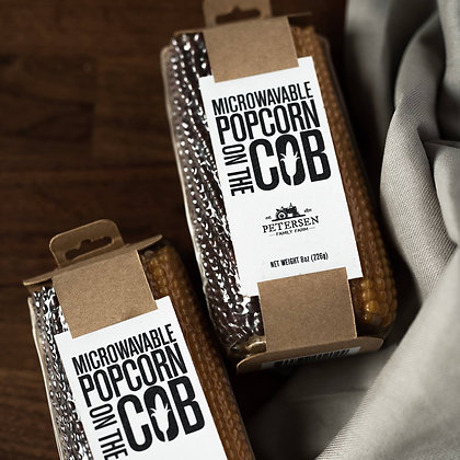 'Pop on the Cob' Popcorn