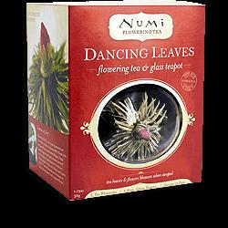 Flowering Tea & Glass Teapot