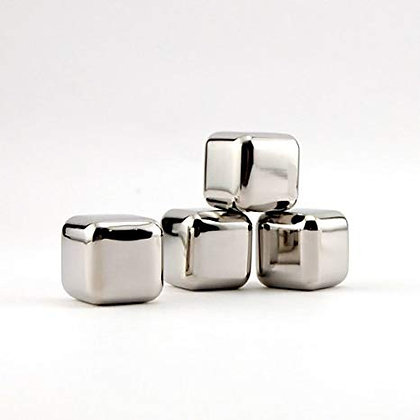 Stainless Steel Ice Cubes (4 ct.)