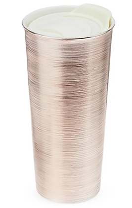 Rose Gold Travel Tumbler