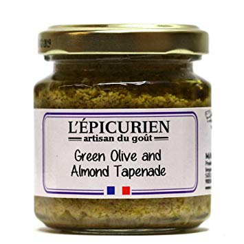 3.5 oz. Green Olive & Almond Tapenade
