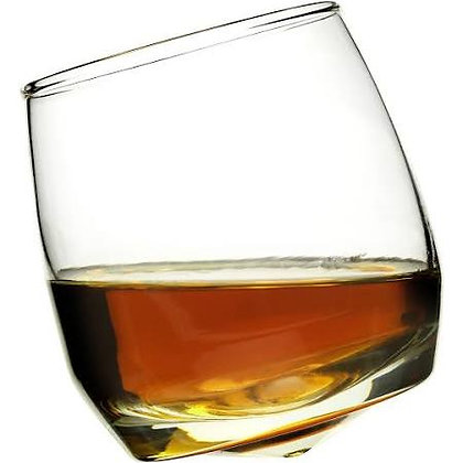 Wobble Whisky Glass