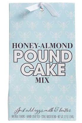 Honey Almond Pound Cake