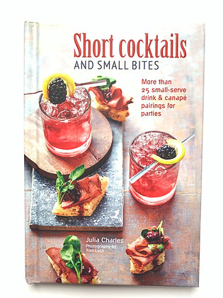 Book-Short Cocktails and Small Bites