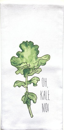 Oh, Kale No Kitchen Towel