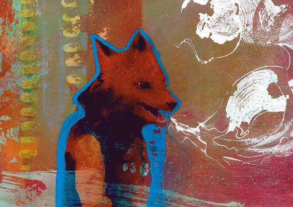 Feral fox/youth