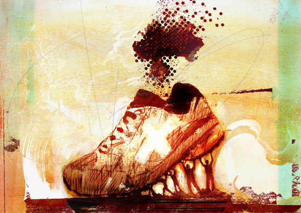 Toxicity of making sneakers.