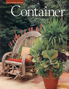 5280 Home, 5280, container gardening, denver dirty girls, ddg container gardening, tucson, tucson container gardening, campagnia pots, succulents, agaves, gardening, fine gardening, face pot, campagnia pots, campagnia face pots, air plants, fine gardening,design challenge winner, willow furniture