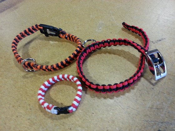 Paracord Collars