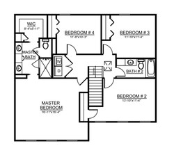 Avery Second Floor Plan